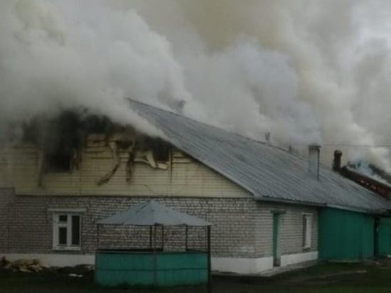 В Марий Эл произошел пожар в психоневрологического интернате