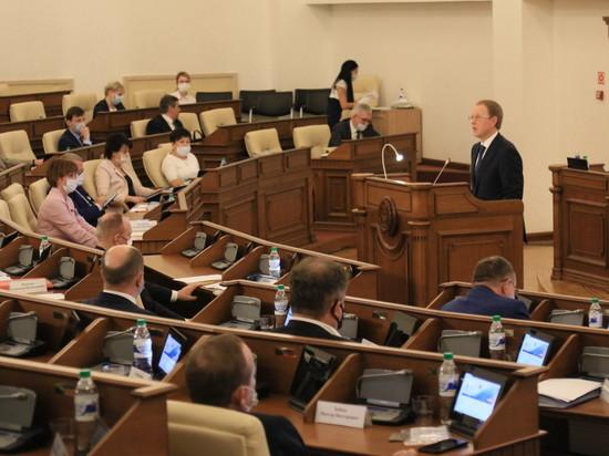 Кредит доверия все еще высок: депутаты АКЗС поддержали отчет губернатора, но и выдали долю критики