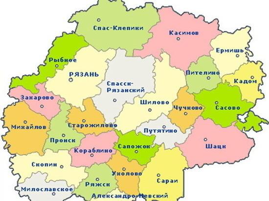 География коронавируса в Рязанской области на 28 мая