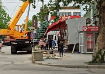 Действия по очистке города от незаконных строений продолжаются