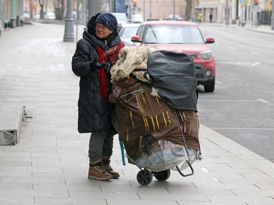 Москве грозит нашествие бомжей: бездомные пойдут на столицу маршем
