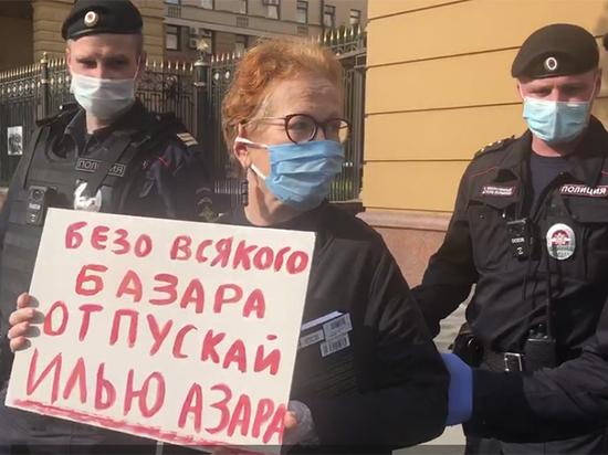 Массовые задержания журналистов на Петровке вызвали возмущение СПЧ