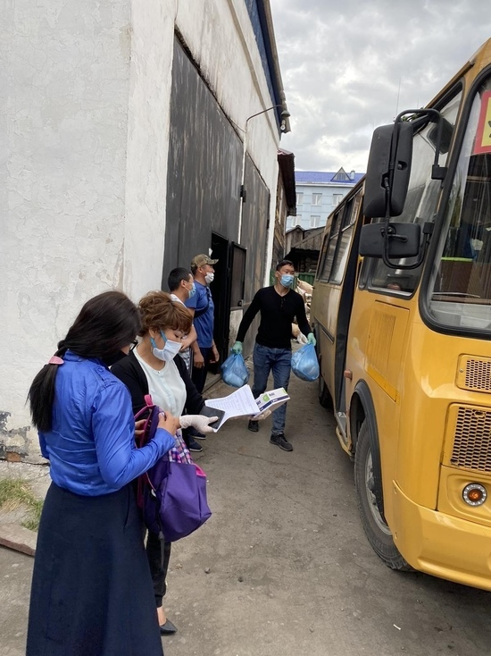 Жители Кызыла в возрасте 65 лет и старше получают в подарок продуктовые наборы