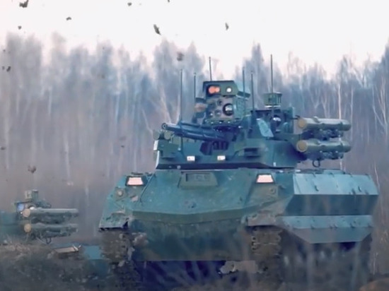 Минобороны РФ рассказало о военных авто с искусственным интеллектом