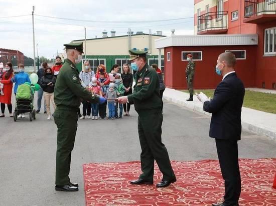 Военнослужащих в Хакасии запустили в новые дома
