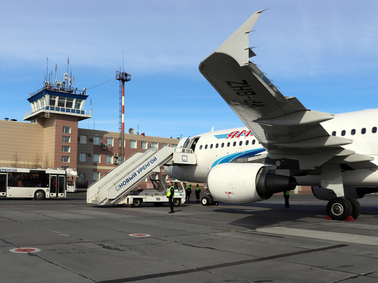 Аэропорт Нового Уренгоя изменит режим работы с 1 июня