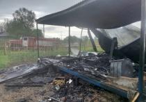 Мужчина сгорел в доме под Калугой