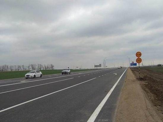 На Кубани закончили строительство двух мостов и участка региональной дороги