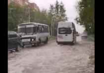 В Калуге начался потоп