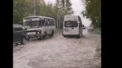 Первые последствия проливных дождей по-калужски