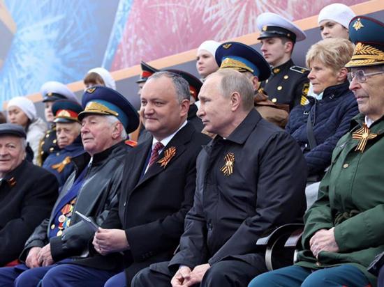 Президент Молдовы подтвердил свое участие в параде Победы в Москве