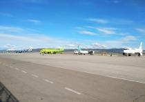 В аэропорту «Байкал» сегодня наблюдался непривычный аншлаг