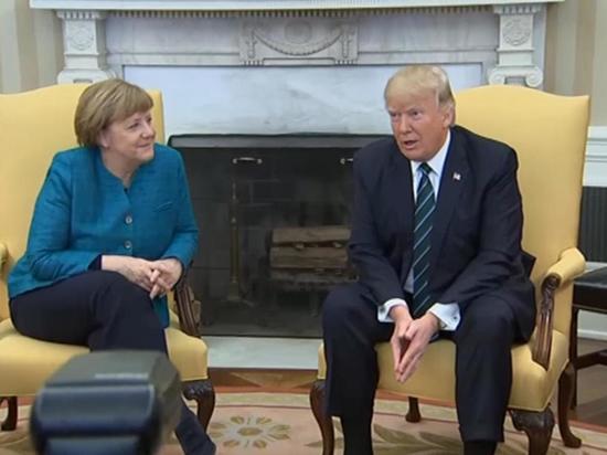 """Трамп и Меркель горячо поспорили о """"Северном потоке-2"""""""