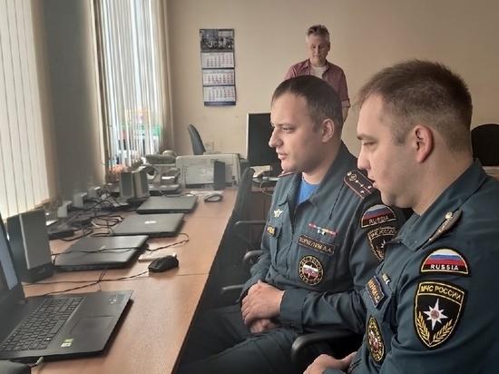 Для учеников школ Фурманова провели вебинар по пожарной безопасности