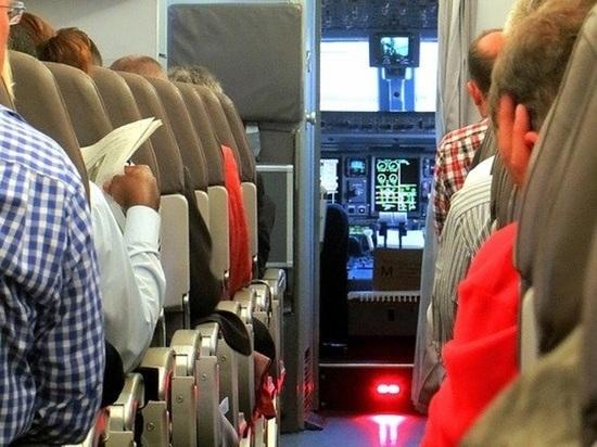 Пассажира авиарейса Екатеринбург – Краснодар задержали за пьяный дебош на борту