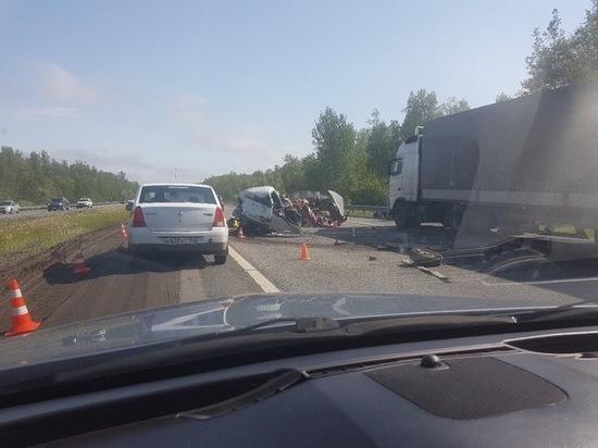 Из-за страшной аварии перекрыли движение по трассе М-2 в сторону Москвы от Серпухова