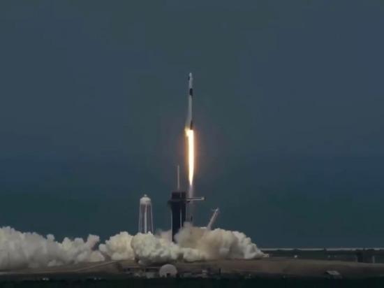 Корабль Crew Dragon взлетел к МКС