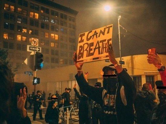 В Лос-Анджелесе ввели комендантский час из-за беспорядков