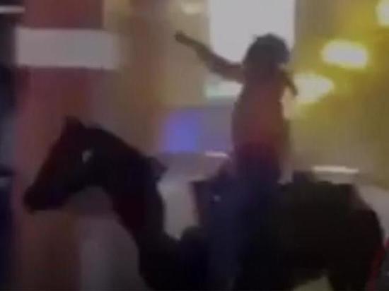 В Чикаго протестующие отобрали у правоохранителя лошадь и ускакали