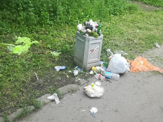 Мусор из парка Авиаторов просят вывезти ростовчане