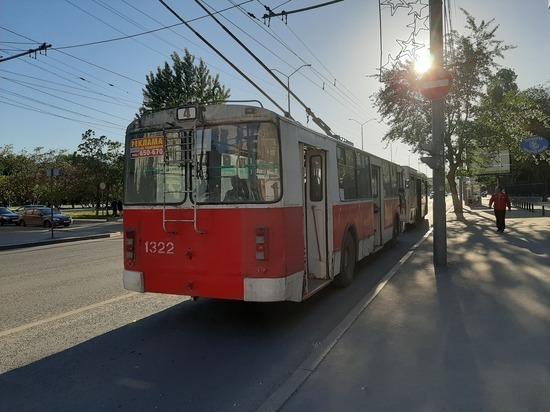 Улица Чернышевского перекрыта для движения троллейбусов и автомобилей