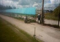 В Скопине ремонтируют стадион «Торпедо»