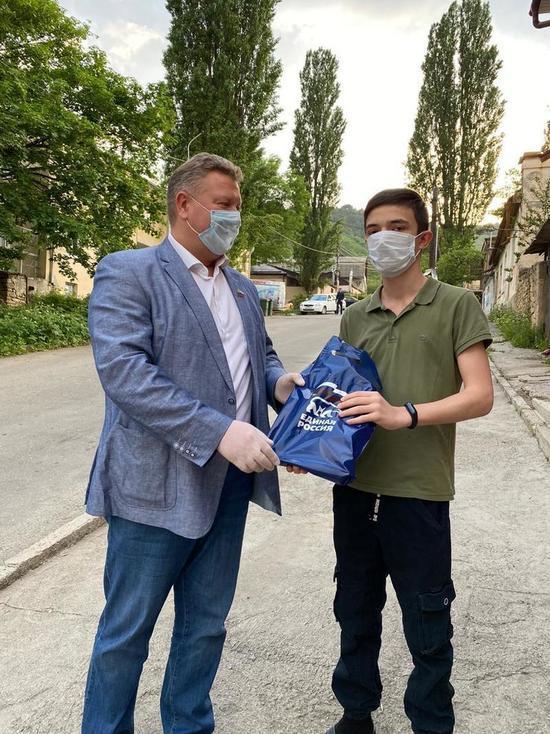 Девятиклассникам подарили планшеты на Ставрополье