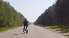 В Подмосковье школьника на велосипеде насмерть сбила машина: видео