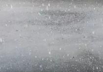 В Салехарде выпал первый летний снег