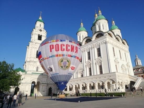 Воздухоплаватели Железноводска подняли «Россию» над Астраханью