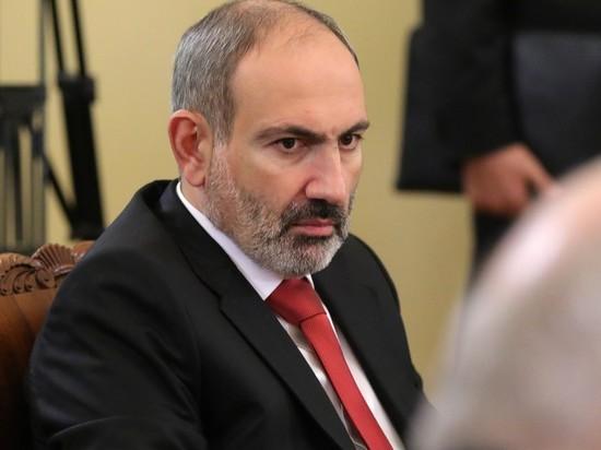 Премьер Армении Пашинян вместе с семьей заразился коронавирусом