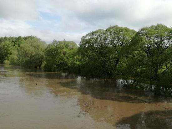 В Калужской области сохраняется угроза подъема воды в реках