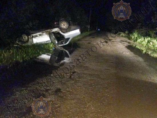 Под Тулой водитель ВАЗ 21099 без прав сел за руль и попал в ДТП
