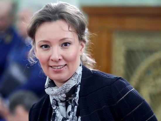 Путин поздравил омбудсмена Кузнецову с седьмым ребенком