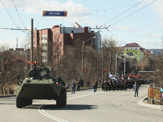 Две репетиции парада ко Дню Победы пройдут в Мурманске