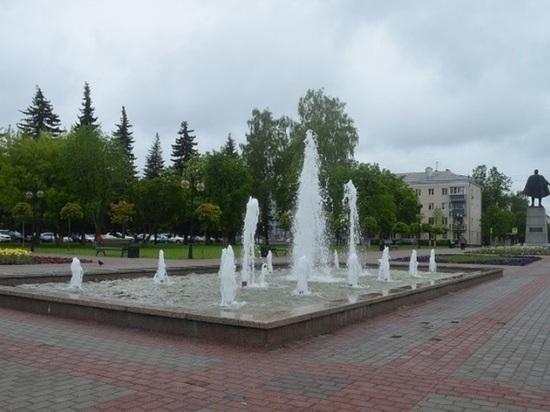 В Серпухове запустили фонтаны