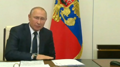 Путин на видео объявил голосование по Конституции 1 июля