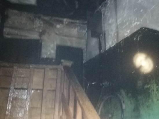 Жители Марий Эл спасли мать с детьми из горящего дома