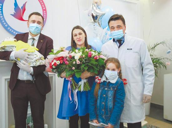 Андрей Воробьев: «Мы благодарны всем, кто заботится о детях, помогает им расти сильными и здоровыми»