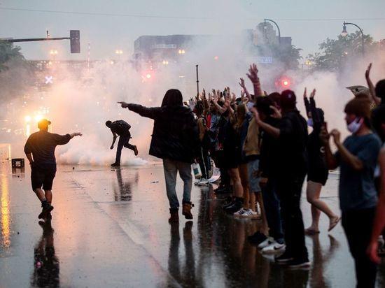 В МИД РФ прокомментировали слова о причастности Москвы к протестам в США