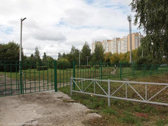 В Рязани благоустраивают Комсомольский парк
