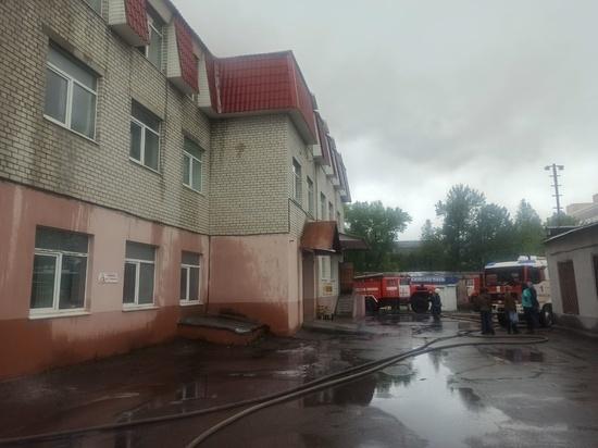В Брянске сгорел офис редакции издания «Комсомольская правда»