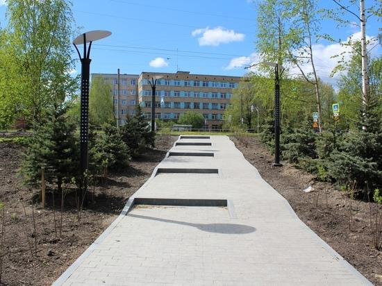 В столице Карелии продолжают благоустраивать новый сквер