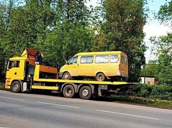 В Иванове арестовали маршрутку