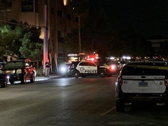Полицейскому выстрелили в голову в ходе протестов в Лас-Вегасе