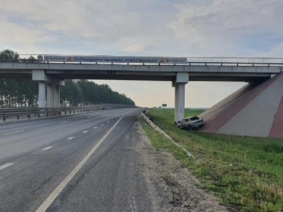 В Тамбовской области ВАЗ врезался в мост