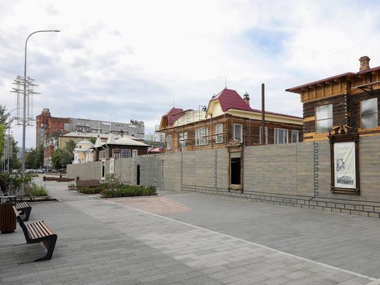 Когда в Красноярске доделают Исторический квартал