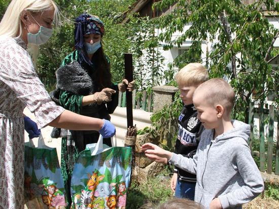 Безопасный и радостный праздник для детей Симферопольского района
