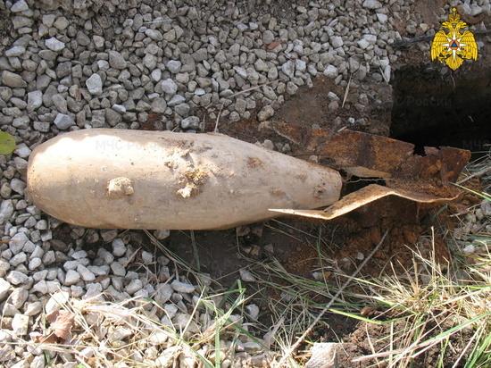На Брянщине в Дятьковском районе нашли 250-килограммовую авиабомбу