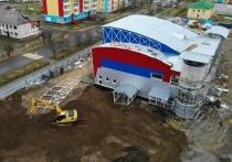 Новый бассейн на Колыме строители сдадут раньше срока